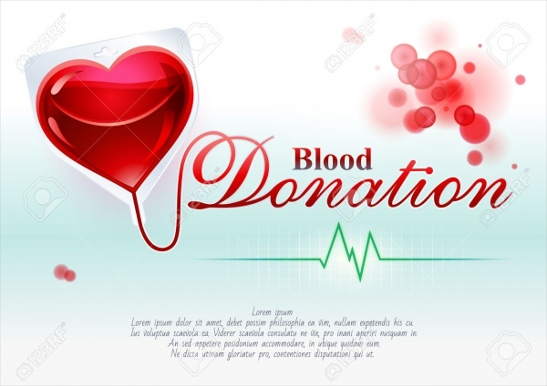 Blood Donation Card Design