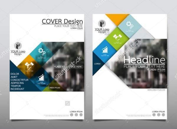 Blue Presentation Brochure Design