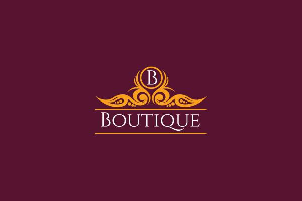 Branding Identity Boutique Logo