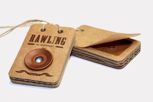 Branding Identity Cardboard Hang Tag