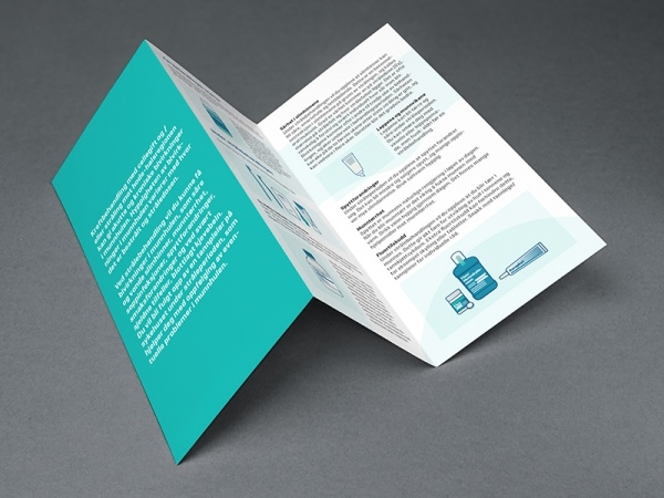 branding identity dental brochure
