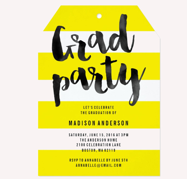 21+ Graduation Party Invitations - Psd, Ai Illustrator Download