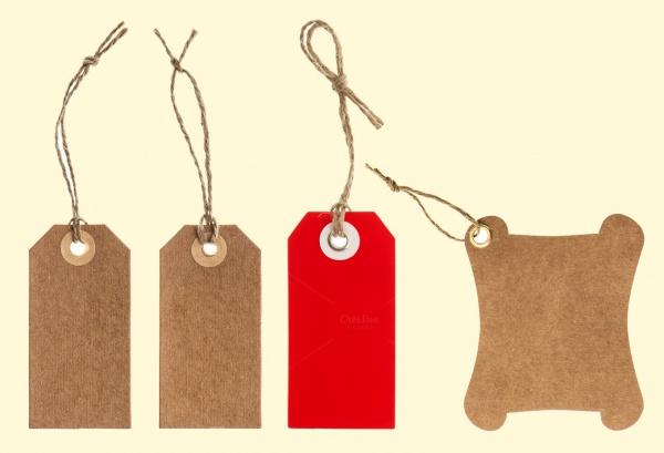 Brown Cardboard Tags