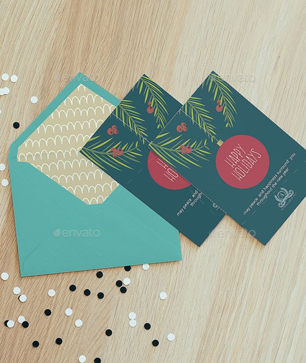 Business Holiday Card Design