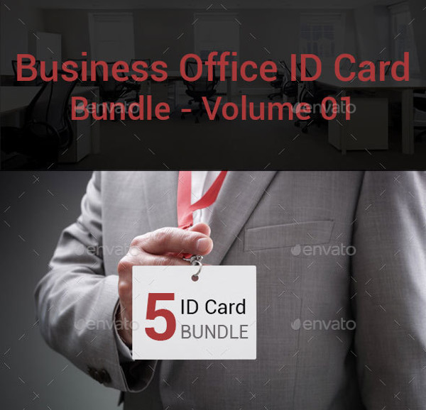 Business Office ID Card Bundle