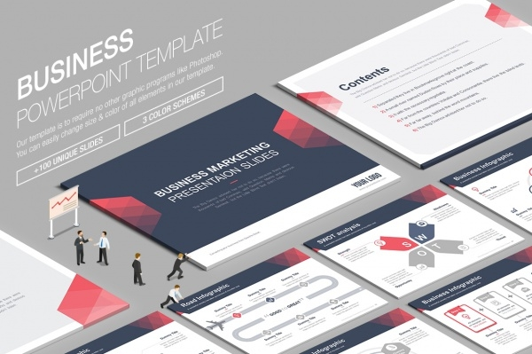 Business Powerpoint Presentations Template