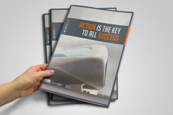Business Presentation Brochure Template