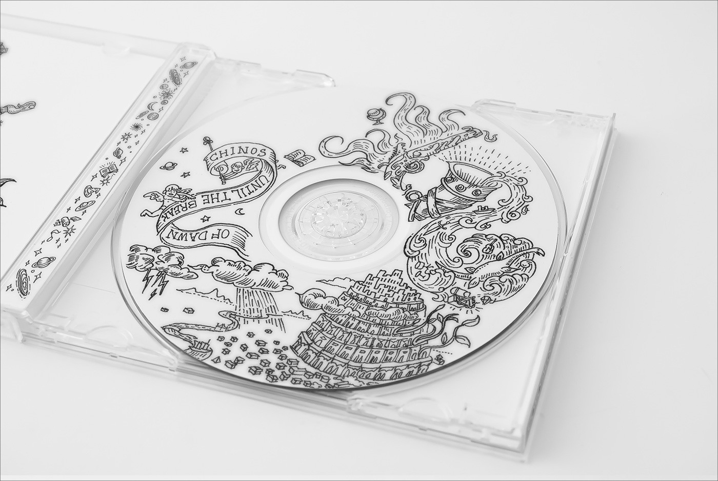 CD Book Packaging