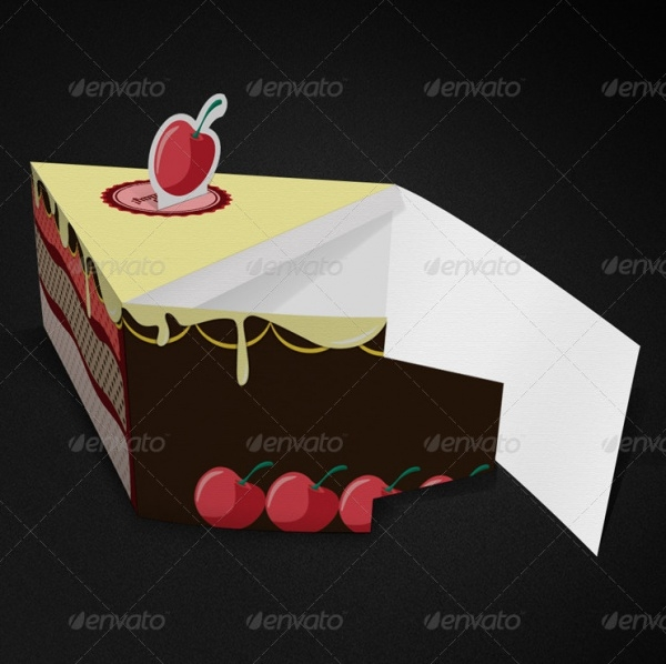 Cake Gift Packaging Design