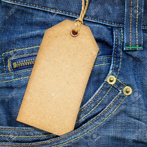 Cardboard Clothes Tag Design