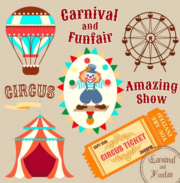 Carnival & Funfair Invitation