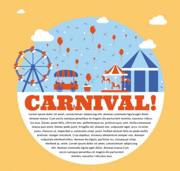 Carnival Park Flyer Template