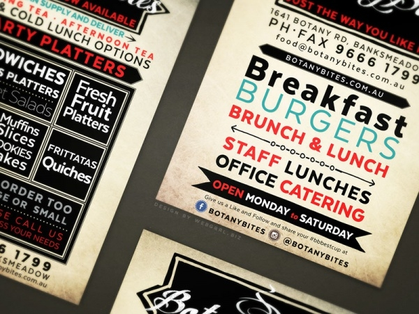 Catering A5 Flyer Design
