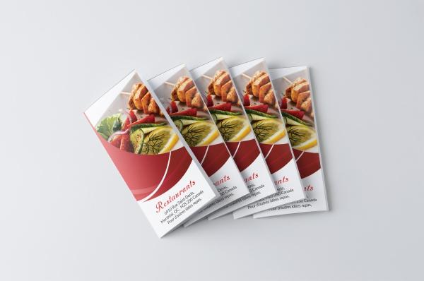 Catering Menu Brochure Template