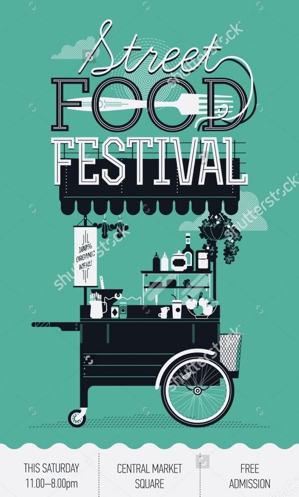 Catering Street Food Flyer Design