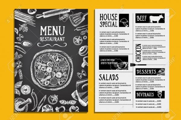 Chalk Menu Restaurant Design