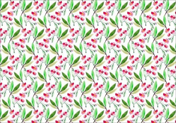 Cherry Blossom Spring Pattern