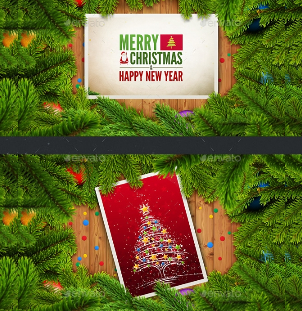 Christmas Holiday Card Design