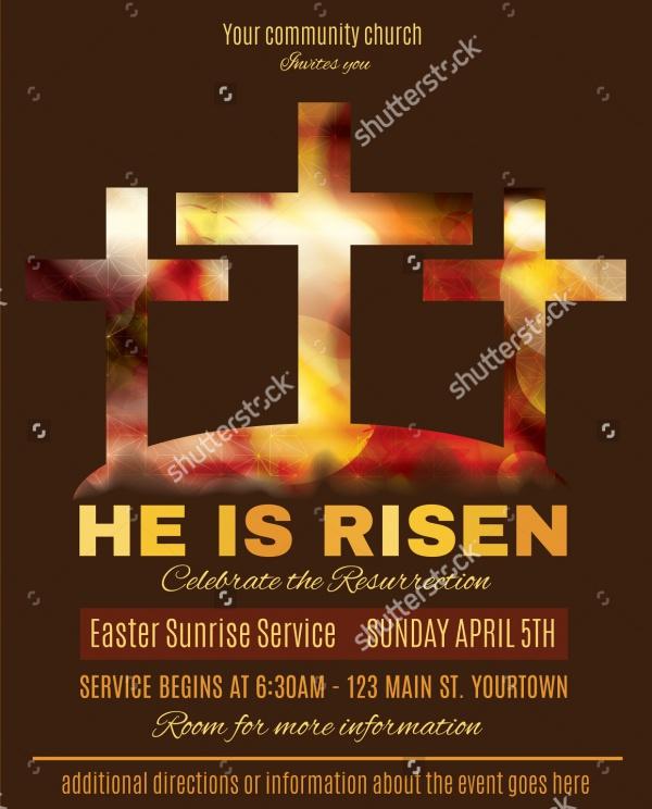 Church Advertisement Flyer Template