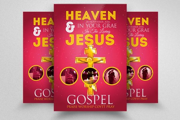 Church PSD Flyer design
