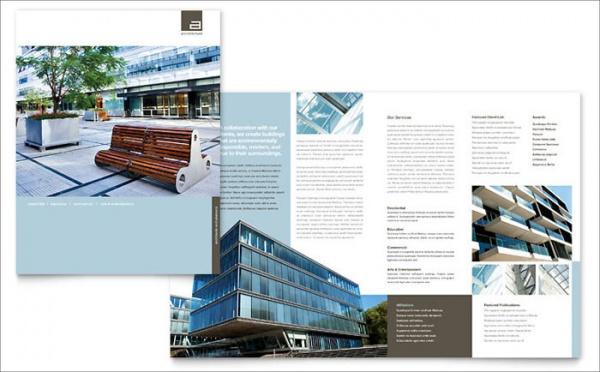 civil engineers architect brochure