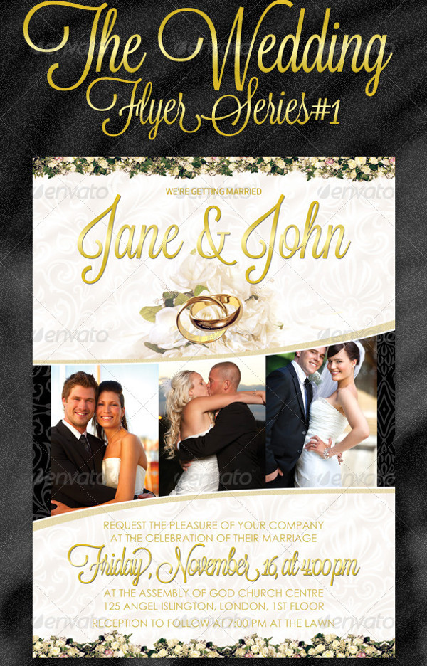 29  elegant psd wedding flyer templates