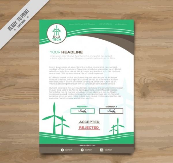 Clean Energy Brochure Design