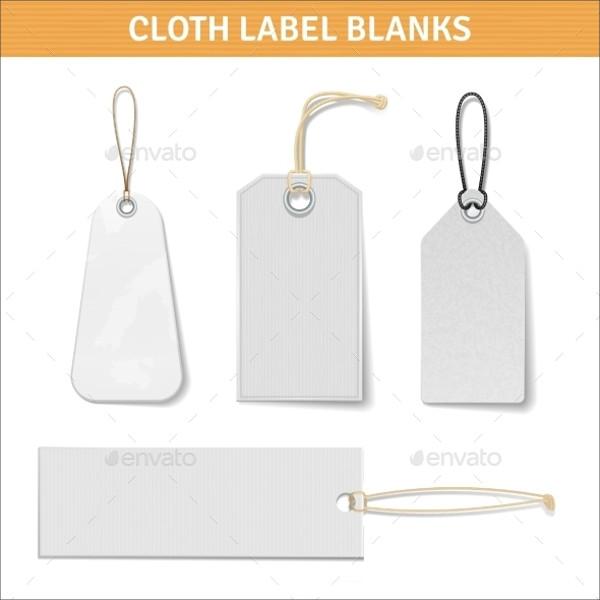 Clothes Label Tags Set