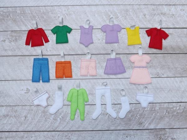 Clothing Drawer Tag Design