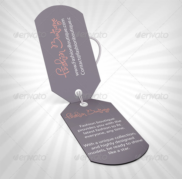 hang tag design