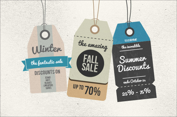20+ Clothing Tag Designs - PSD,