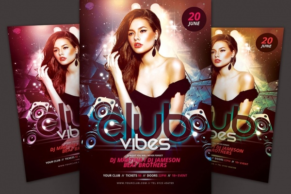 Club Vibes Flyer Design
