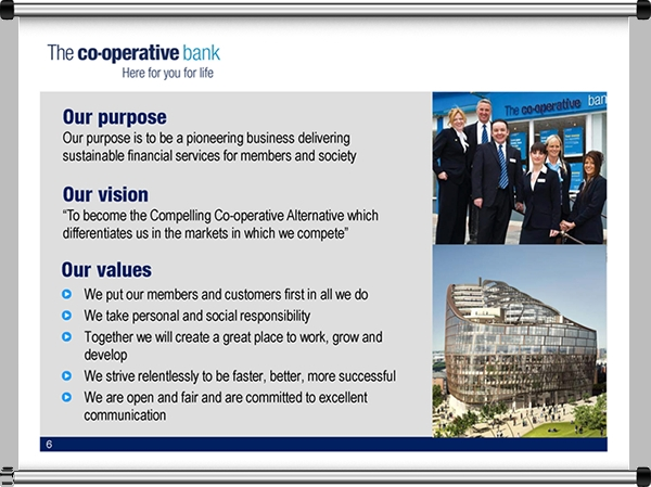 Co-operative Bank Executive Presentation
