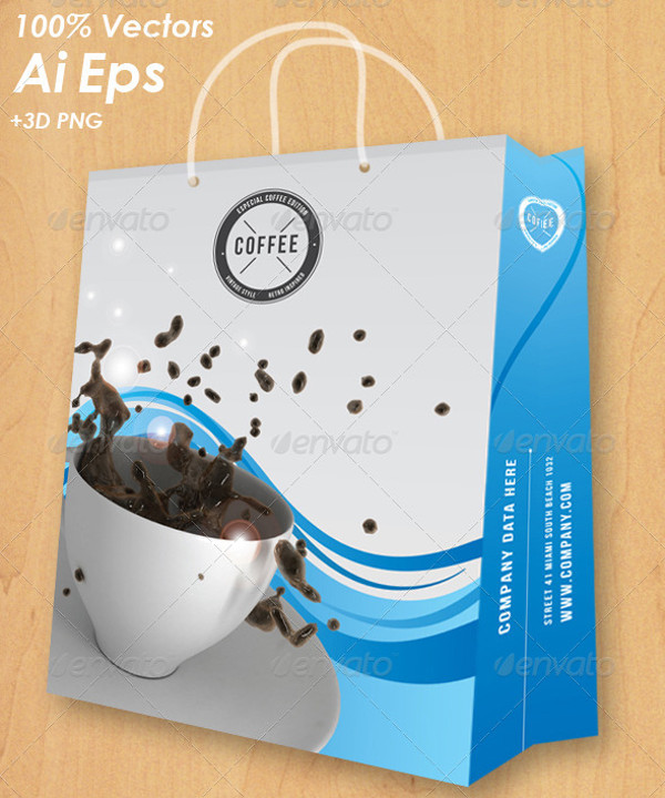 Coffee Bag Packaging Design