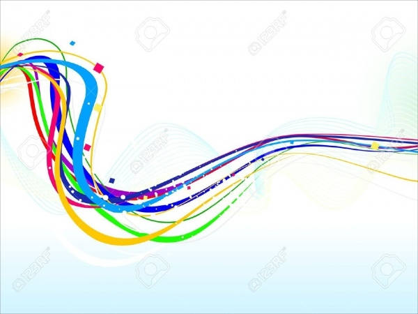 Colorful Line Illustration Vector