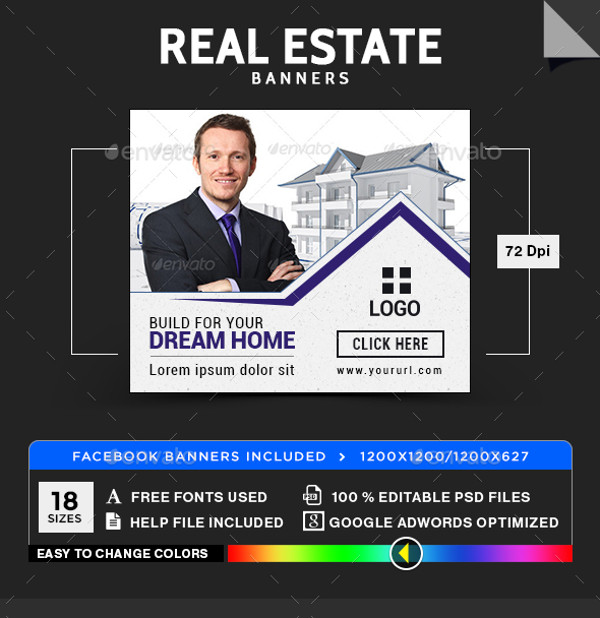 Commercial Real Estate Banner