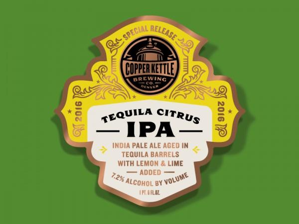 Copper Kettle Special Beer Label
