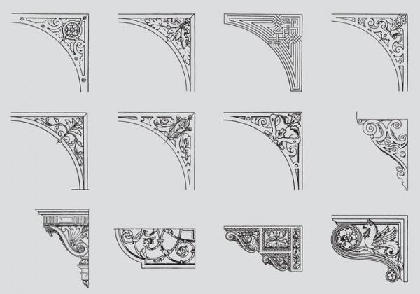 Corner Scrollwork Vector Design