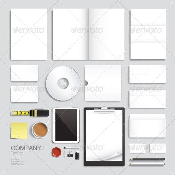 Corporate Branding Vector Set