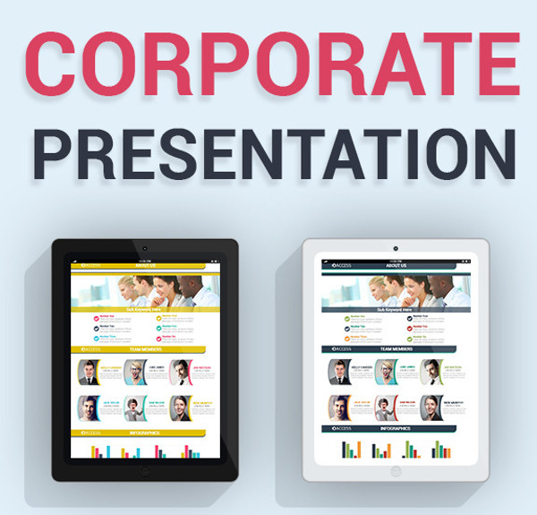 Corporate Powerpoint Presentation Template