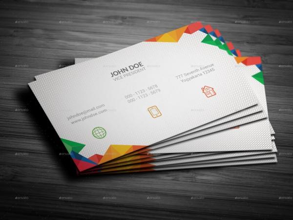 Creative Corporate Business Card Design