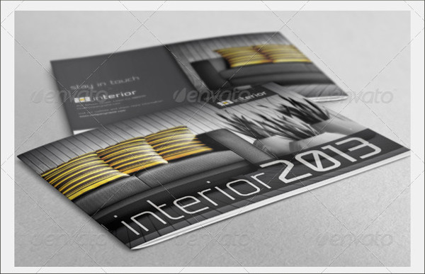Creative Interior Booklet Brochure
