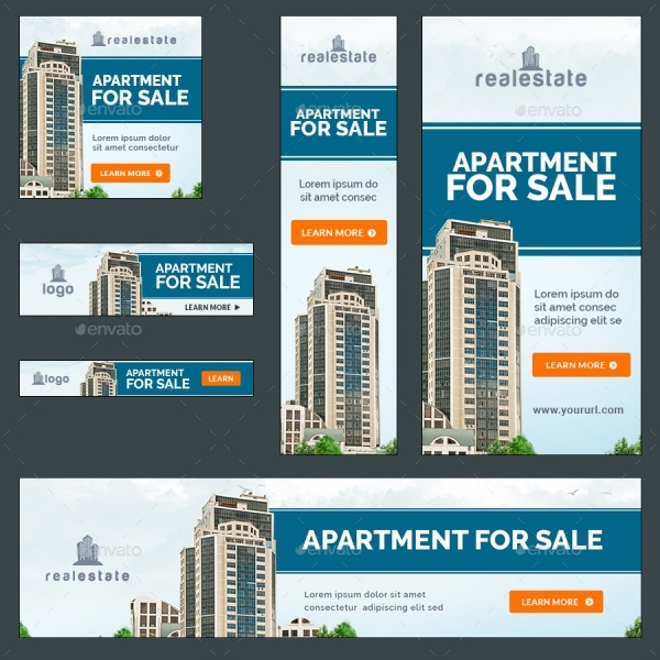 Creative Real Estate Banners