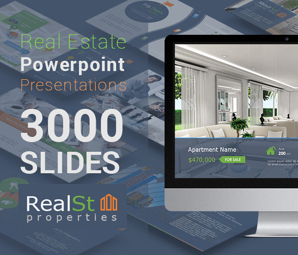 Creative Real Estate Google Slides Presentation