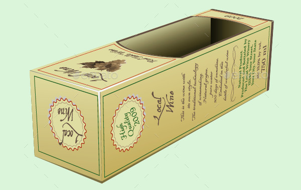 Wine Box Packaging
