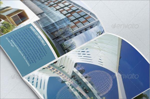 cruise designed architectural brochure