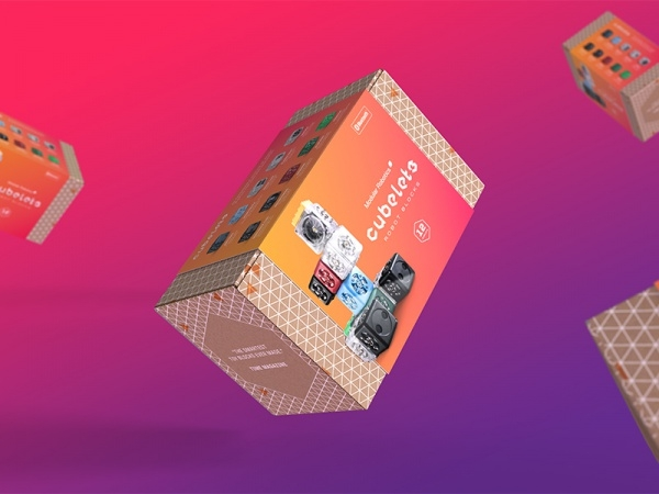 Cubelets Cardboard Packaging Design