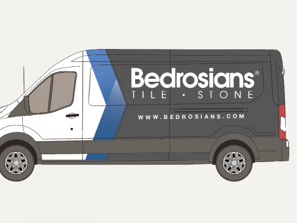 Customizable Delivery Truck Advertisement