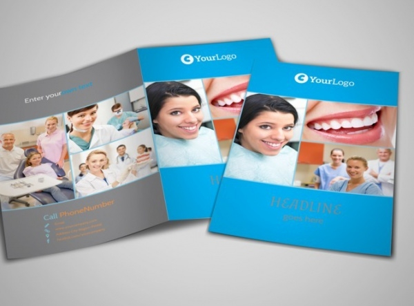 customizable dental brochure template
