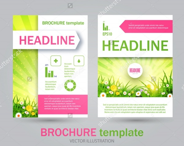Customizable Lawn Flyer Template